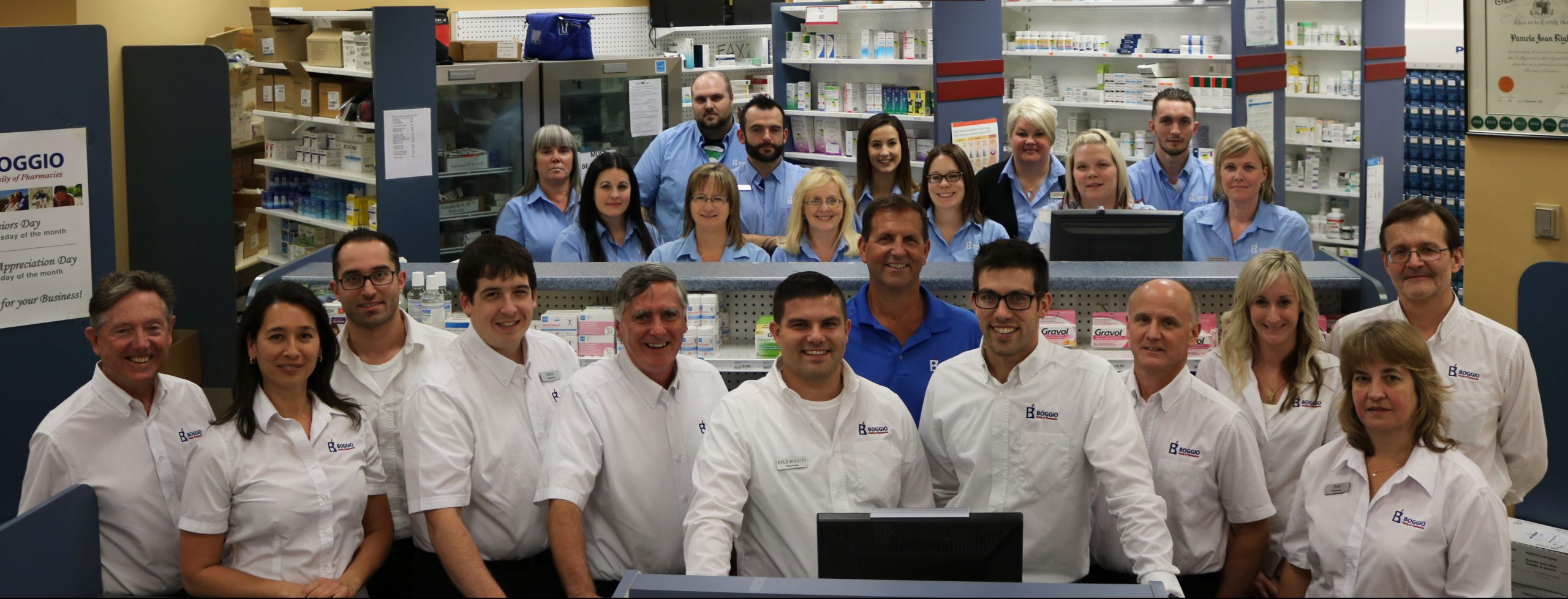 Our pharmacists are friendly and always willing to answer your questions!