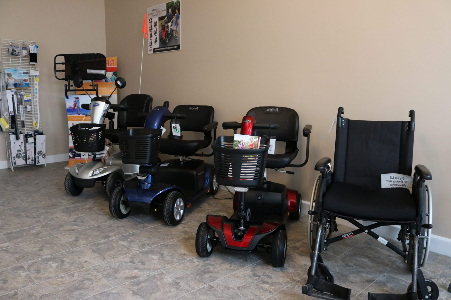 Wheel Chairs and Scooters